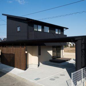 外観|高知県土佐市Y様の注文住宅施工実績 こだわりが詰まったお家
