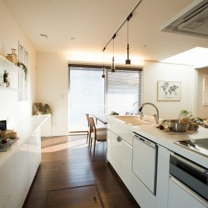 キッチン|高知県土佐市Y様の注文住宅施工実績 こだわりが詰まったお家