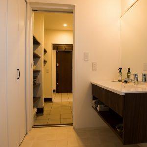 サニタリー|高知県土佐市Y様の注文住宅施工実績 こだわりが詰まったお家