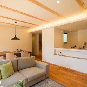 室内内観2|高知県O様邸注文住宅施工実績 すべてのお部屋が南向きお家