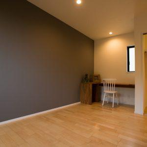 室内内観2|高知県土佐市A様邸注文住宅施工実績 ガレージのあるL型の家