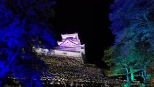 高知市中心部にある高知城にてチームラボ開催 高知市注文住宅SAI