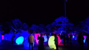 高知市の高知城で各国で開催されているチームラボ写真 高知市 注文住宅SAI