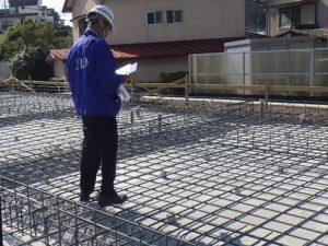 高知市店舗基礎配筋検査|高知市注文住宅SAI