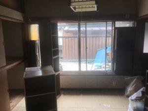 お部屋解体前の写真 高知市注文住宅SAI