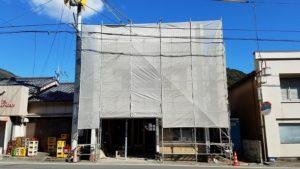 須崎市でリノベーション工事の外観写真 高知市注文住宅SAI