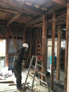須崎市H様邸既存建物解体画像|高知市注文住宅SAI
