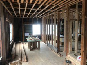 須崎市H様邸2階工事着工中画像|高知市注文住宅SAI