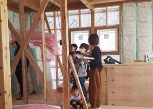 香南市野市町M様邸プロットチェック中の写真 高知市注文住宅SAI