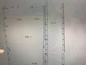 基準点を決めて測量していく写真|高知新築注文住宅SAI
