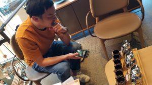 スターバックスリザーブロースタリー東京の飲み比べコーヒーの量にびっくりする画像|高知注文住宅SAI