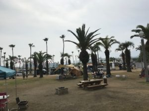 愛媛県新居浜市のキャンプ場全体写真|高知市注文住宅SAI