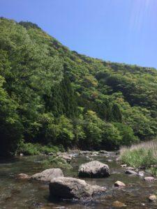 3月から解禁となるアメゴの捕れる場所の写真 高知市注文住宅SAI