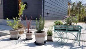 高知市K様邸の植栽配置完了写真|高知市注文住宅SAI