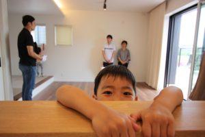 香南市野市町M様邸お兄ちゃんの顔アップ写真|高知市注文住宅SAI
